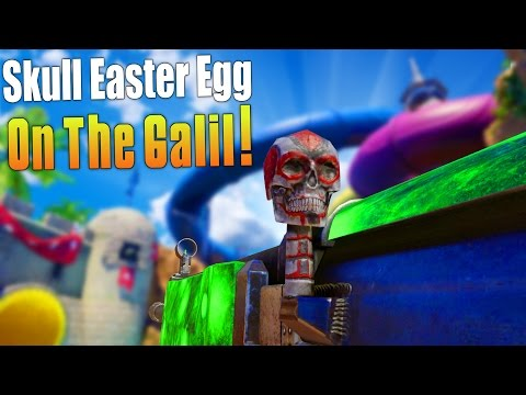 SKULL EASTER EGG ON THE GALIL! (Black Ops 3 Funny Moments & New DLC Content Gameplay) - MatMicMar