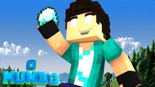 Minecraft Mundo - A RECOMPENSA DO DIAMANTE !!! #07