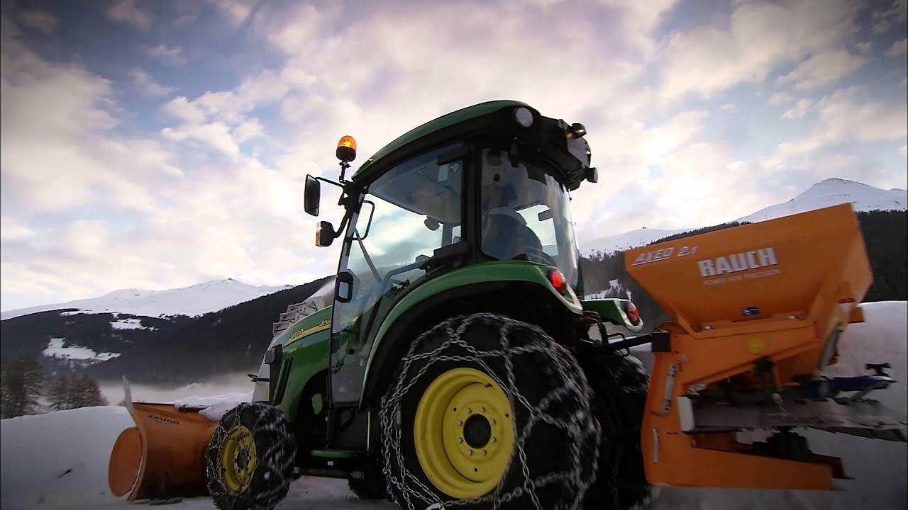 traktor john deere 3720 im wintereinsatz youtube. Black Bedroom Furniture Sets. Home Design Ideas