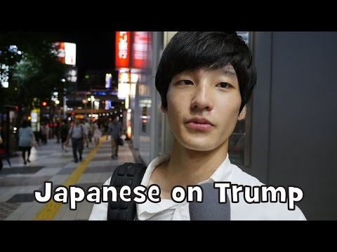 What Japanese Think of Donald Trump (Interview)