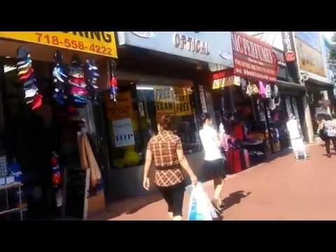 Jamaica Avenue walk- Jamaica Queens 2014