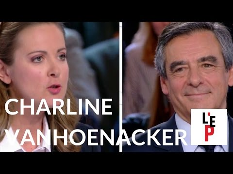 Chronique de Charline Vanhoenacker face à François Fillon  - L'Emission politique (France 2)