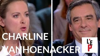 Chronique de Charline Vanhoenacker face à François Fillon  - L