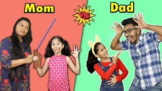 Mom Vs Dad In Real Life Funny Video | Pari's Lifestyle