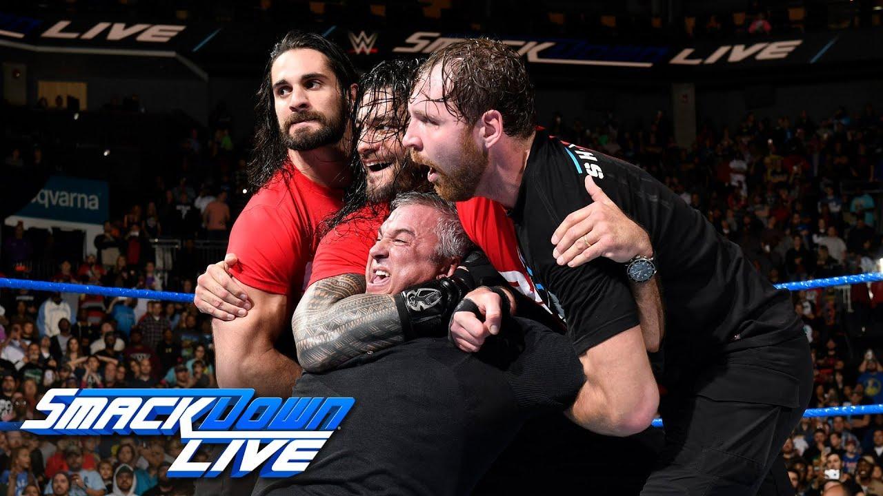 Download Kurt Angle & The Shield lead a Raw raid of SmackDown: SmackDown LIVE, Nov. 14, 2017