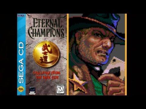 Eternal Champions: Challenge from the Dark Side (Sega CD) - Dawson Playthrough (Warrior)