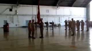 US Central Command Marine Commanders Transfer the Colors