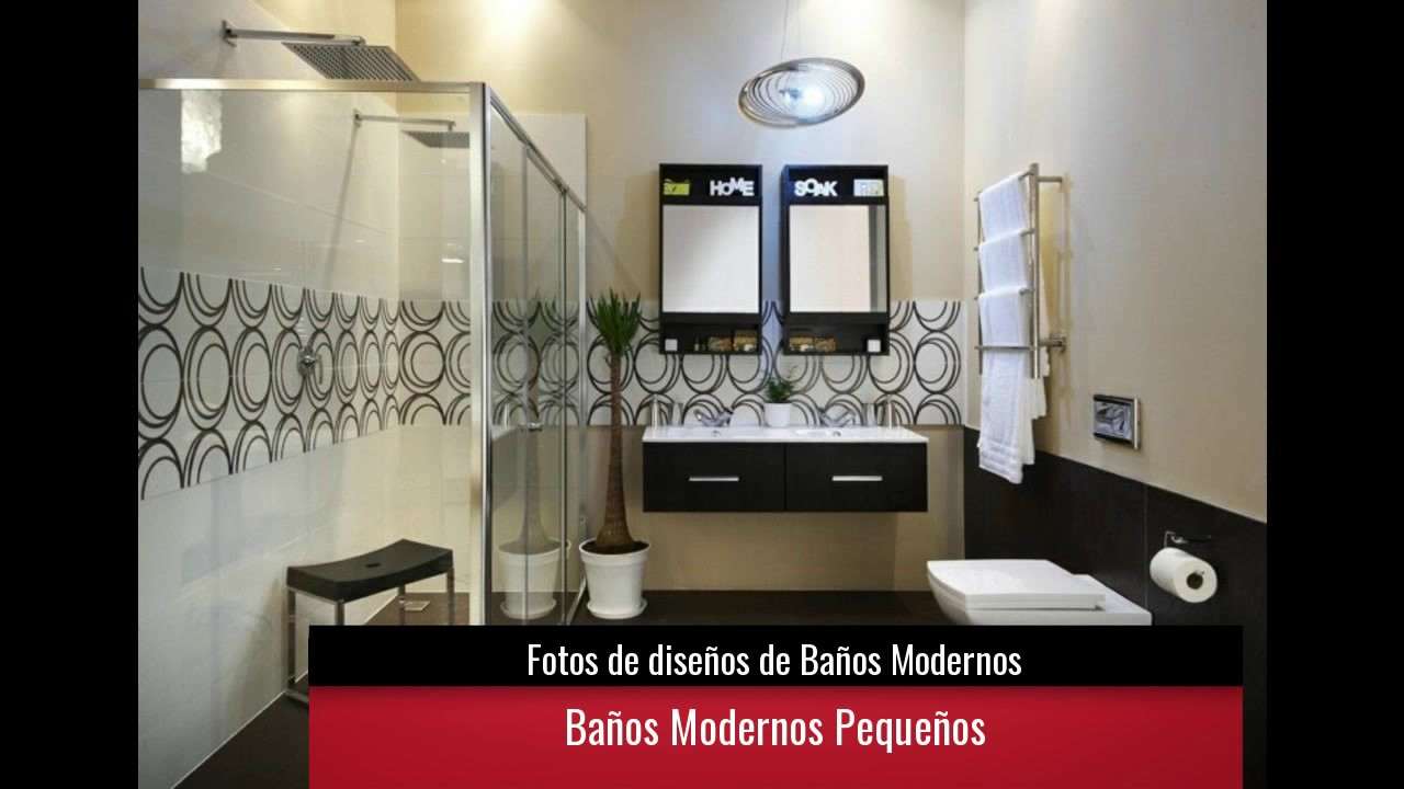 De 20 fotos de dise os de ba os modernos youtube for Banos completos modernos