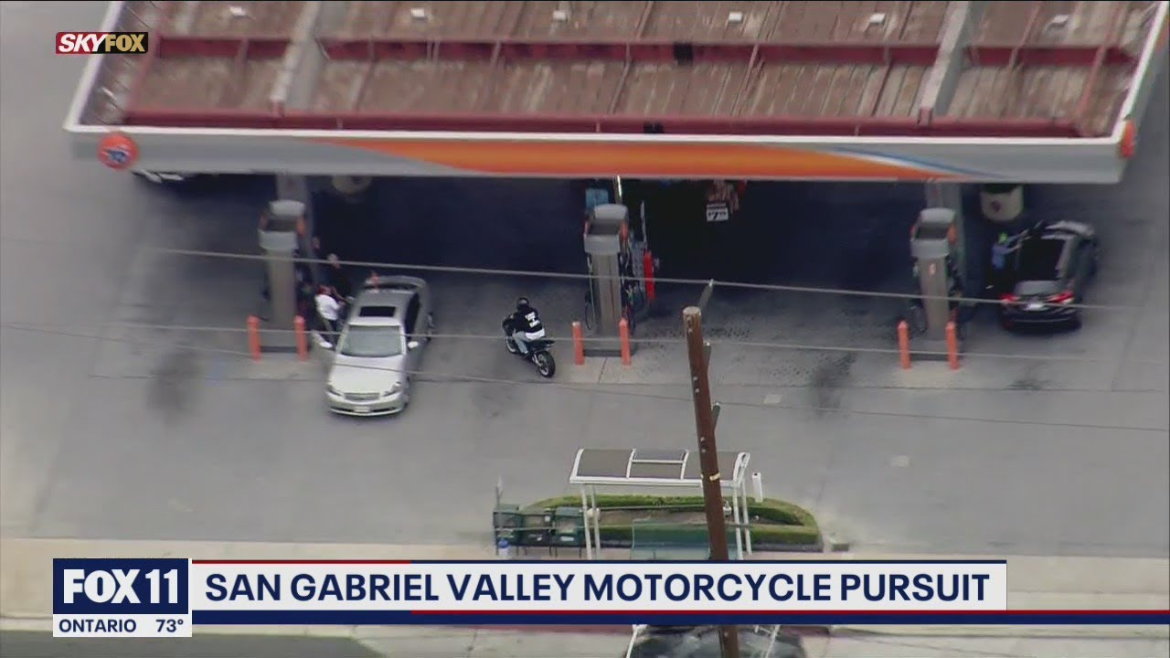 Download Motorcyclist leads deputies on chase through San Gabriel Valley