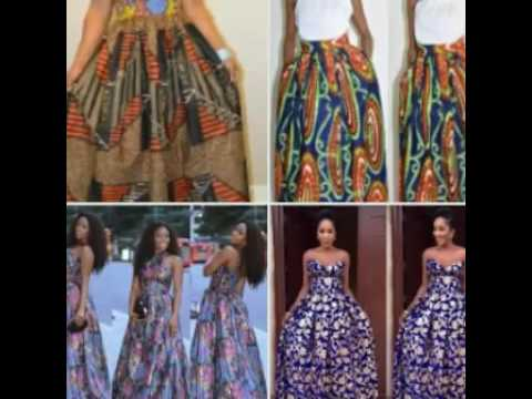 African Maxi Skirts & Dresses, African Print Fashion