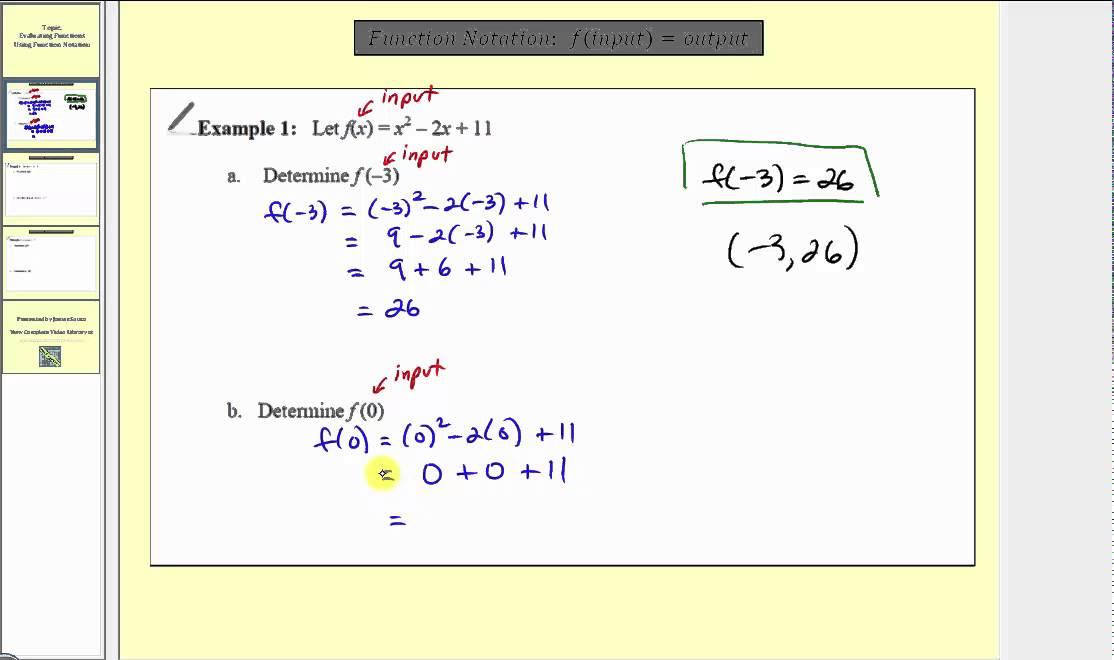 PDF  Algebra of Functions - CCfaculty.org