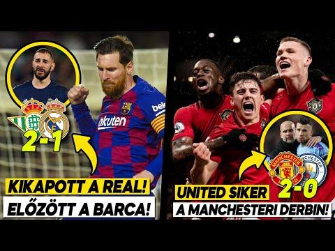Kikapott a Real, előzött a Barca!!!