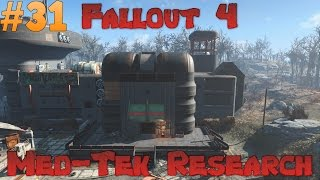Let s Play Fallout 4 - Med-Tek Research Ep 31