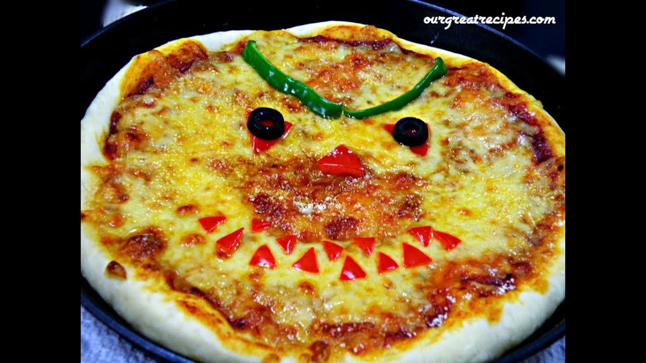 Halloween Pizza - YouTube