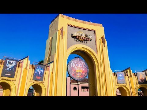 HHN28 - Universal Orlando Halloween Horror Nights VLOG   October 2018