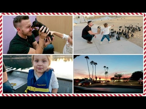 vlogcember-day-9,-2015-|-playing-with-puppies-&-lake-poway!
