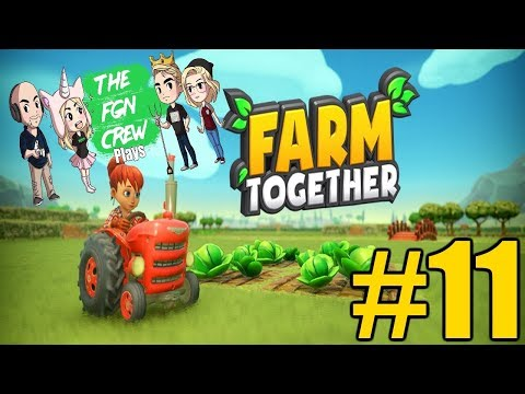 The FGN Crew Plays: Farm Together #11 - Fish Island Grows
