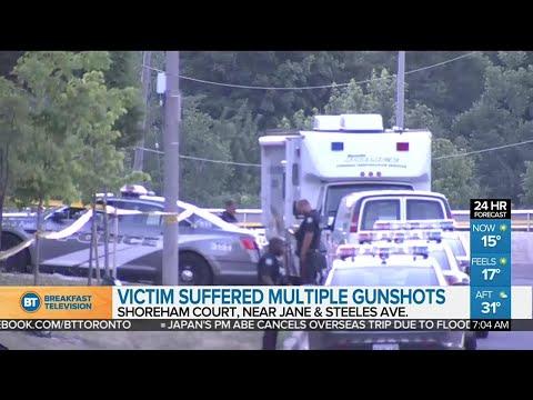 Man gunned down in North York