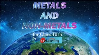 Metals and Non Metals for X Standard