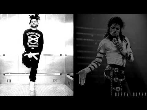 The Weeknd VS. Michael Jackson - Dirty Diana