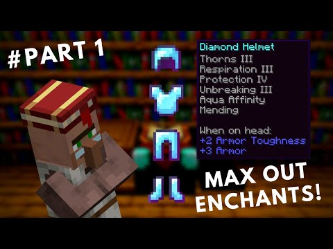 The Fastest Way To Get Perfectly Enchanted Gear In Minecraft 1.14+! [Part 1]