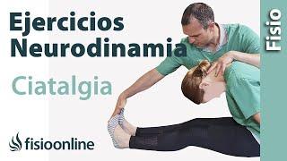 Repeat youtube video Ejercicios neurodinámicos para la ciática o ciatalgia