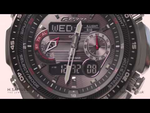 Introduction to Casio Edifice Solar Powered Radio Controlled Watch ECW-M300EDB-1AE - Features & Demo