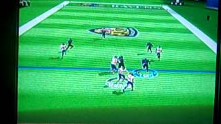 Madden NFL 12 (Wii): 5 on 5 Mode: Baltimore Ravens vs. New York Giants