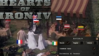 (HOI4) When you Play on Recruit Difficulty