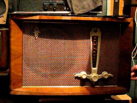 Radio lampowe Riga 10