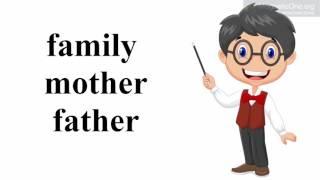 Урок 5 Англійська мова 1 клас. My family. Частина 1.