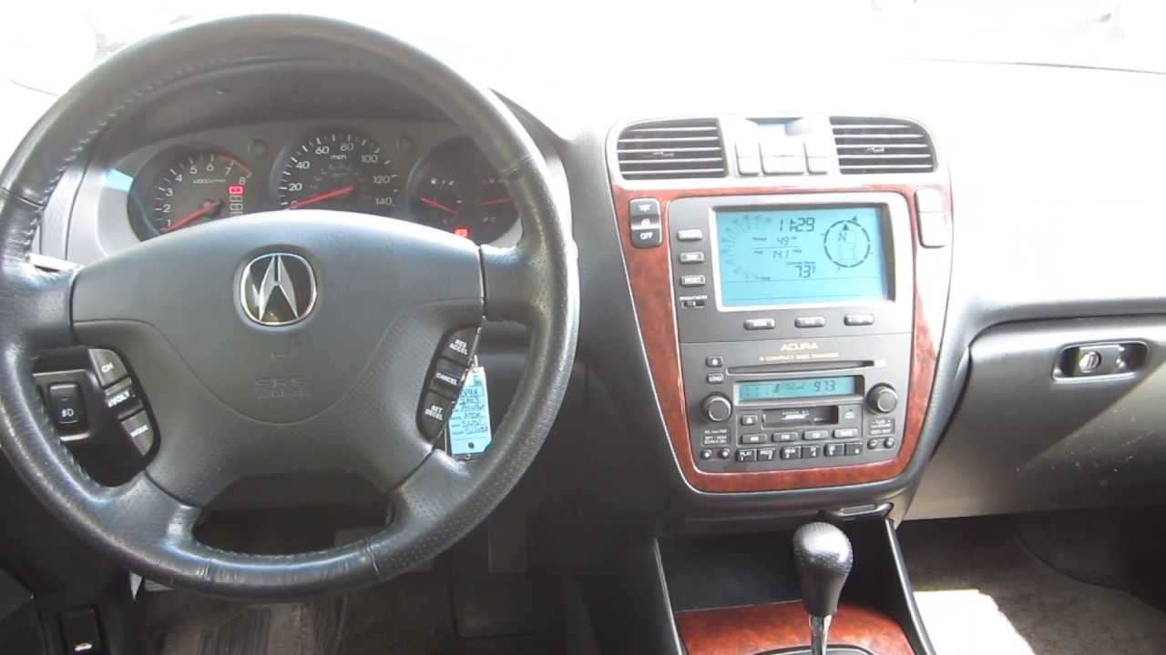 2003 Acura MDX, Silver - STOCK# 140014A - Interior - YouTube