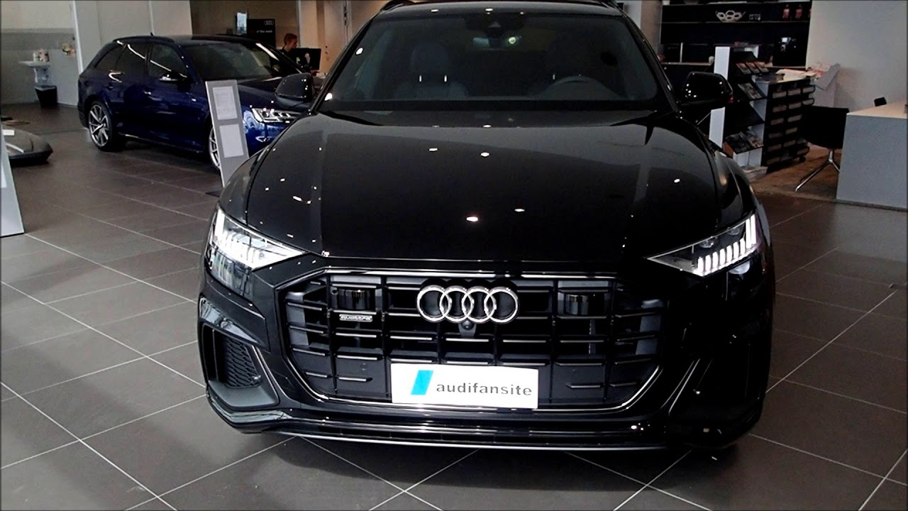 the beast orcha black new audi q8 with s line and 22 inch wheels etc walkaround youtube. Black Bedroom Furniture Sets. Home Design Ideas