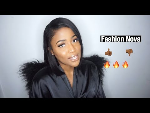 [VIDEO] - Fashion Nova Lookbook                                 Try on Review 1