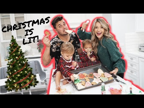 FAMILY CHRISTMAS COOKIES & *OUR NEW TREE REVEAL*