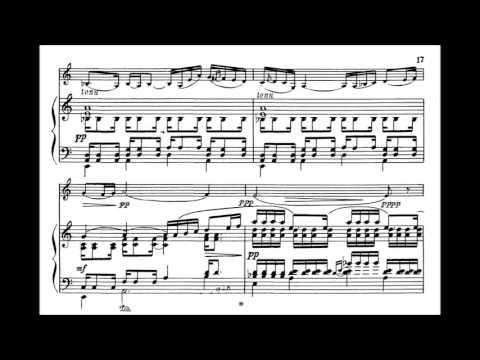 Poulenc, Francis  Sonate for violin + piano