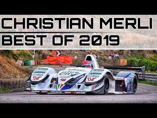 CHRISTIAN MERLI BEST OF 2019 OSELLA FA30 ZYTEK