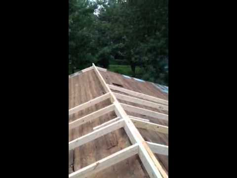 Chicken Ranch Fix Saggy Roof Youtube