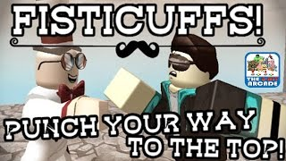 Roblox: Fisticuffs! - Get KOs By Punching People Off The Map (Xbox One Gameplay)