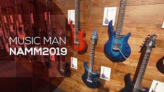 """Music Man 2019 - te gitary sprzedaje sięna """"pniu""""  (NAMM)"""