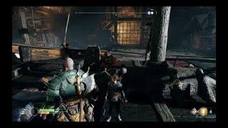 God of War. La piedra de afilar, el favor de kratos.