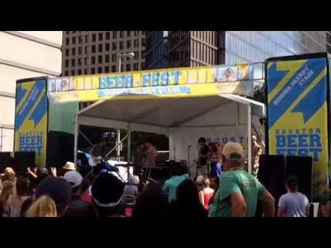 The Scorseses - Minnie the Moocher (cover) live at Houston Beer Fest 2014