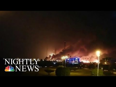 Saudi Oil Field Attack Originated From Iran, Used Cruise Missiles And Drones | NBC Nightly News