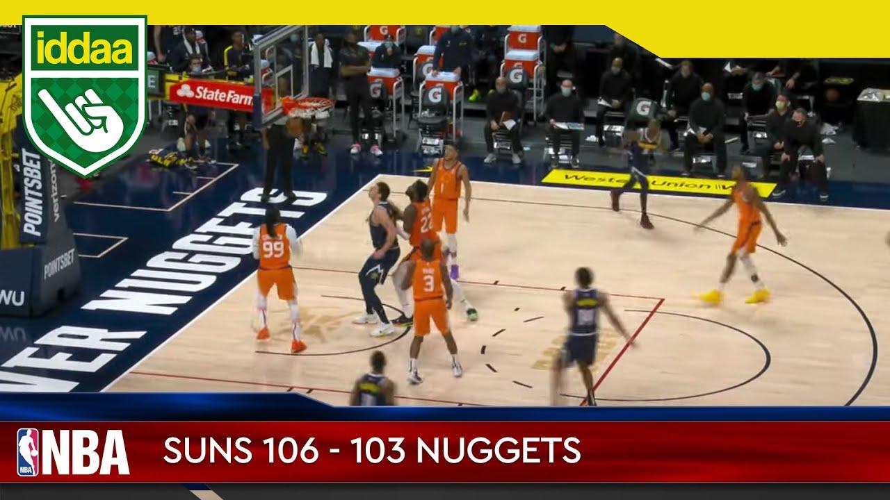 Phoenix Suns – Denver Nuggets Maç Özeti