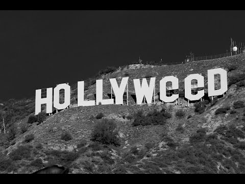 Changing The Hollywood Sign To Hollyweed