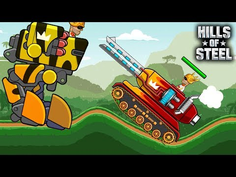 Hills Of Steel - Gem Mania Event Walkthrough With TOP TANKS Gameplay