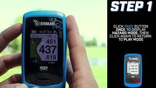 IZZO Golf SWAMI 6000 Hazard Mode Tutorial
