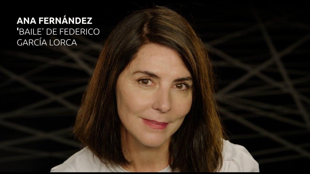 Ana Fernández García ana fernández recita 'baile' de federico garcía lorca