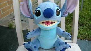 Aloha Stitch talking plush toy