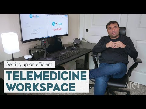 Setting up an Efficient Telemedicine Workplace   AINeuroCare